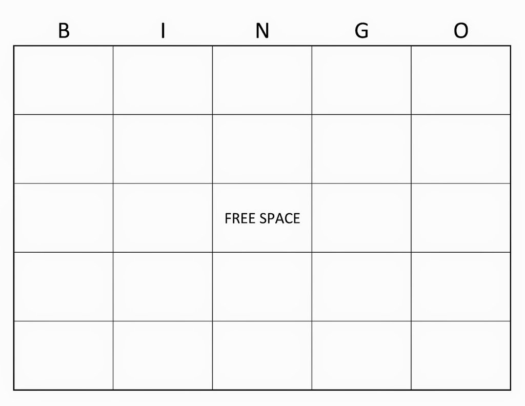 Free Blank Bingo Template Best Of Sight Words Bingo Learning to Read the Fun Way