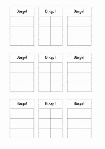 Free Blank Bingo Template Lovely Bingo Template by Lottielizzie9