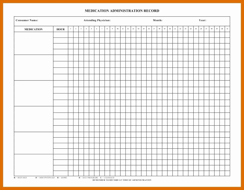 Free Blank Chart Templates Best Of 4 5 Free Printable Medication Chart
