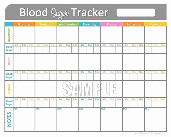 Free Blood Sugar Log Elegant Blood Sugar Tracker Printable for Health Medical