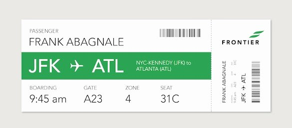 Free Boarding Pass Template Best Of Boarding Pass Template