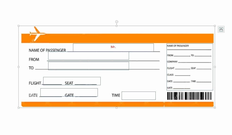 Free Boarding Pass Template Elegant 16 Real & Fake Boarding Pass Templates Free