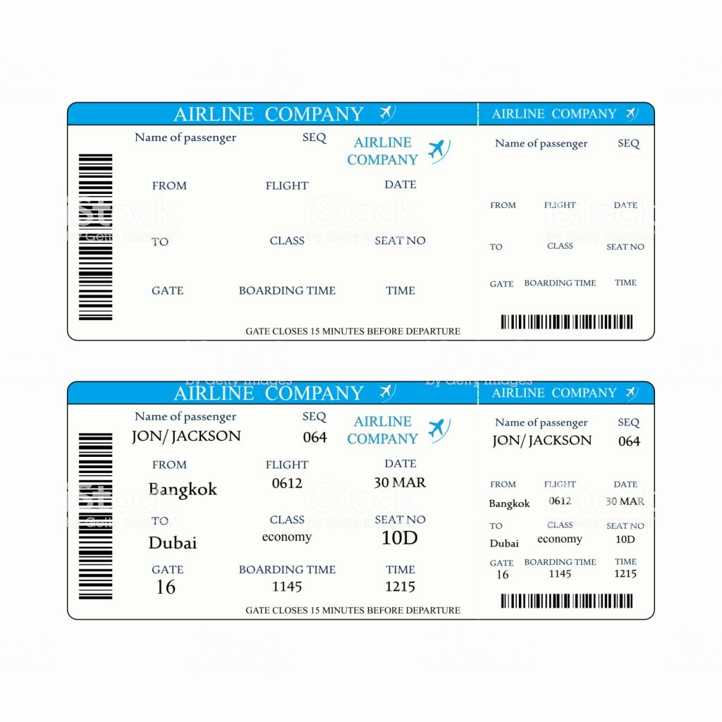 Free Boarding Pass Template Luxury Boarding Pass Template Stock Vector Art & More Of