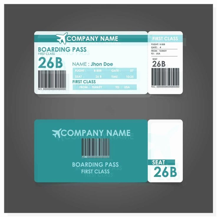 Free Boarding Pass Template New Best 25 Boarding Pass Template Ideas On Pinterest