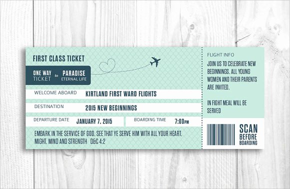 Free Boarding Pass Template New Boarding Pass Template 9 Download Documents In Pdf