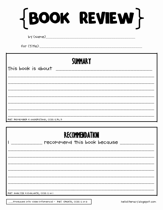 Free Book Report forms Lovely Informational Literacy Unit Post Revised Hello Literacy