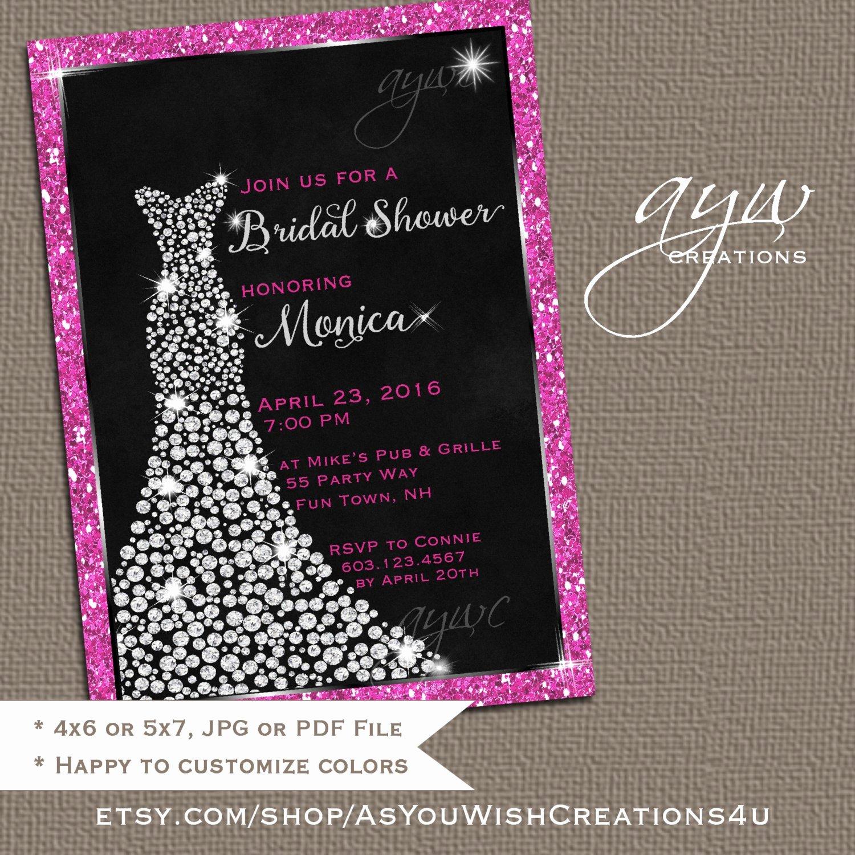 Free Bridal Shower Invitation Printables Awesome Wedding Dress Bridal Shower Invitation Printable Bridal Shower