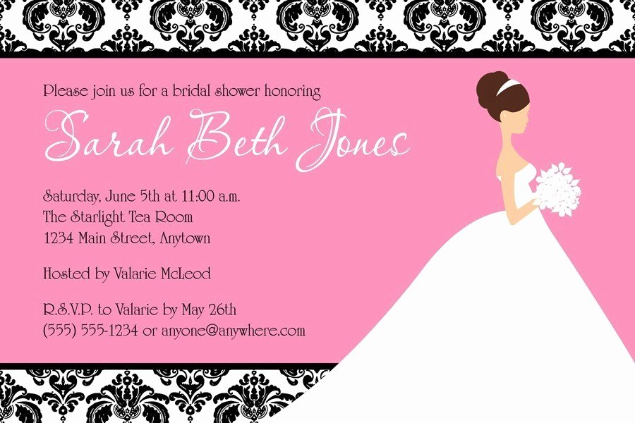 Free Bridal Shower Invitation Printables Best Of Free Editable Wedding Invitation Templates