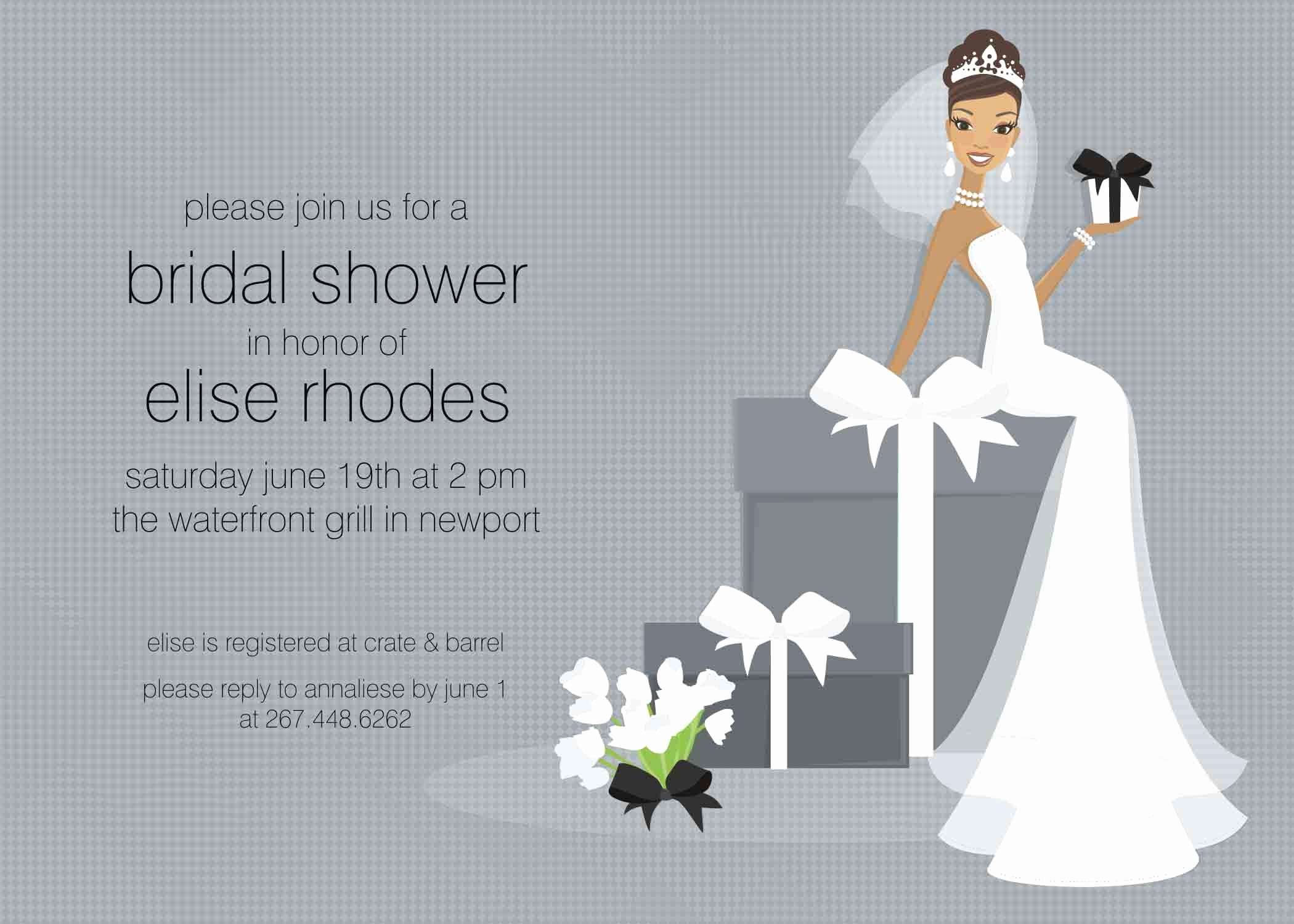 Free Bridal Shower Invitation Printables Elegant Bridal Shower Invite Template Chanel Bridal Shower