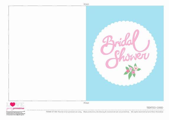 Free Bridal Shower Invitation Printables Elegant Free Bridal Shower Party Printables From Love Party