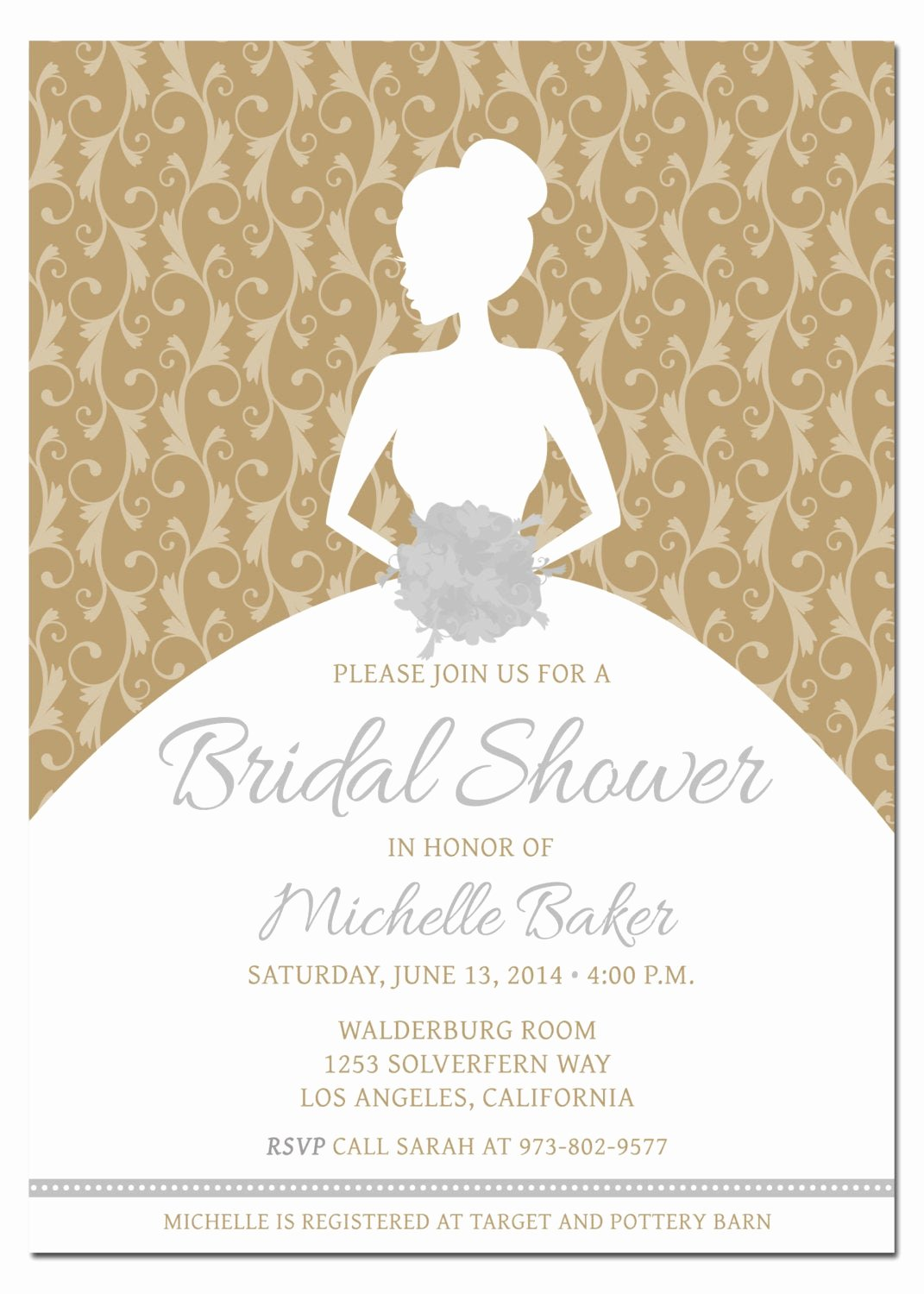 Free Bridal Shower Invitation Printables Fresh Printable Diy Bridal Shower Invitation Template with