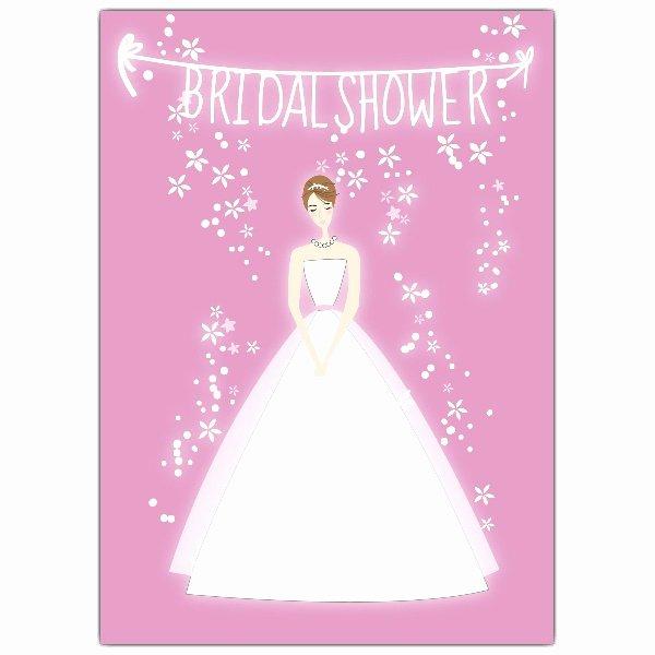 Free Bridal Shower Invitation Printables New Bride Pink Bridal Shower Invitations