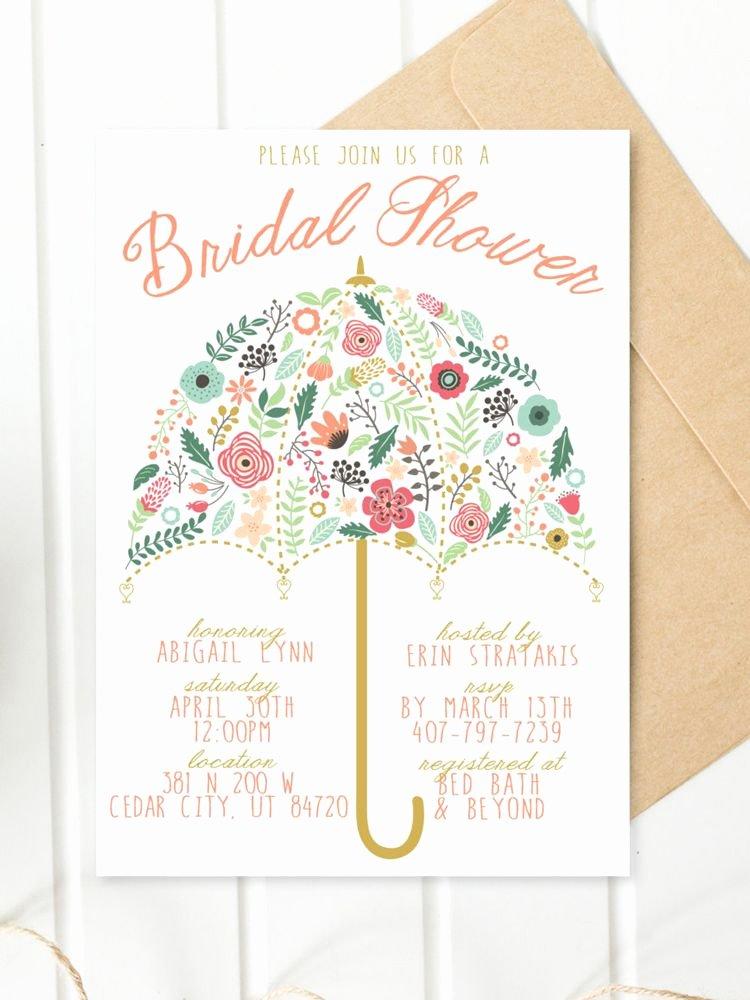 Free Bridal Shower Invitation Printables New Printable Bridal Shower Invitations You Can Diy