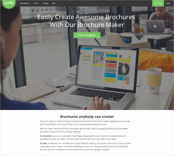Free Brochure Maker Online Beautiful 17 Best Free Brochure Maker tools Wpsnow