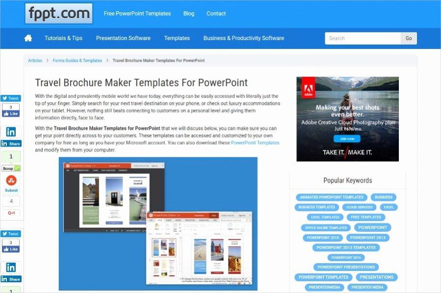 Free Brochure Maker Online Luxury 22 Free Brochure Makers for Designers