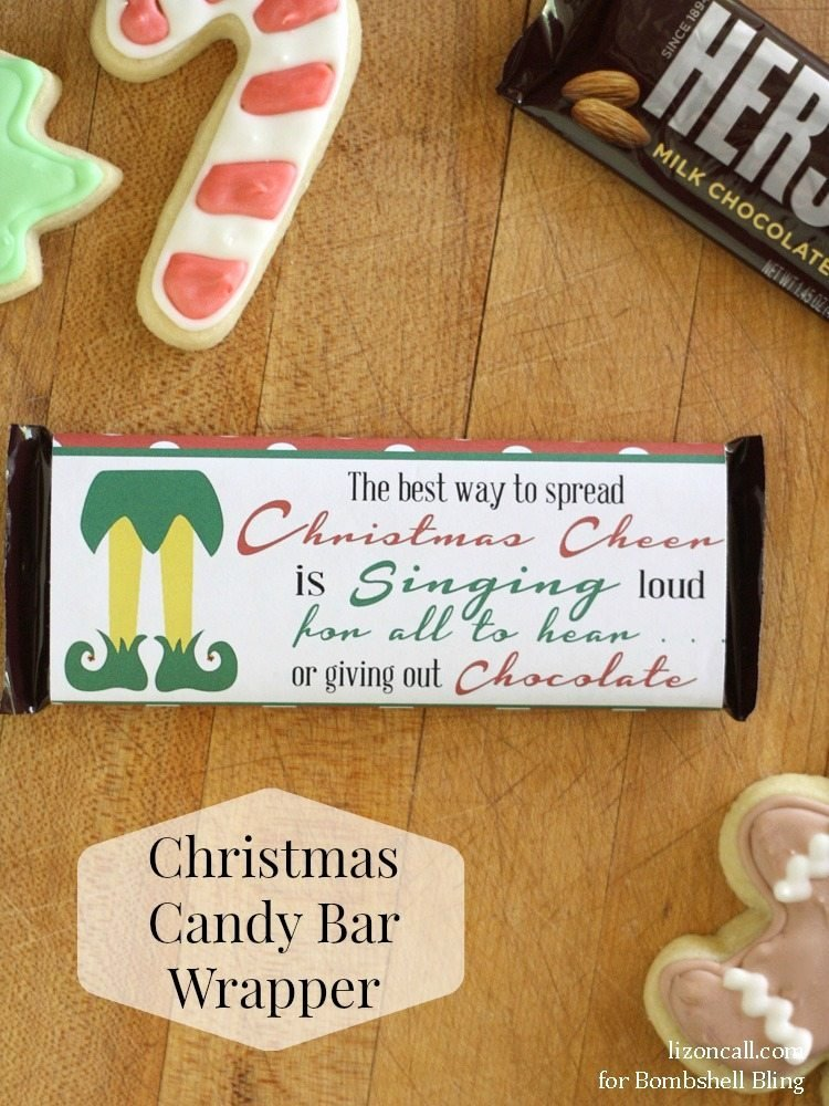 Free Candy Bar Wrappers Fresh Elf Inspired Printable Christmas Candy Bar Wrapper