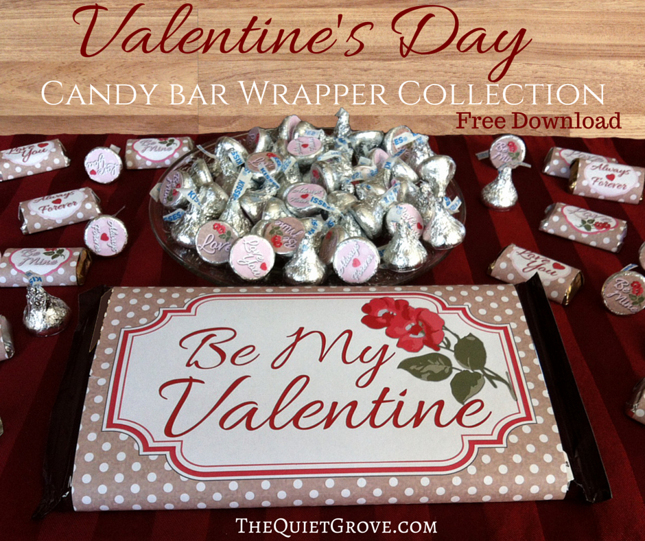 Free Candy Bar Wrappers Lovely Free Valentine S Day Candy Bar Wrapper Printables ⋆ the