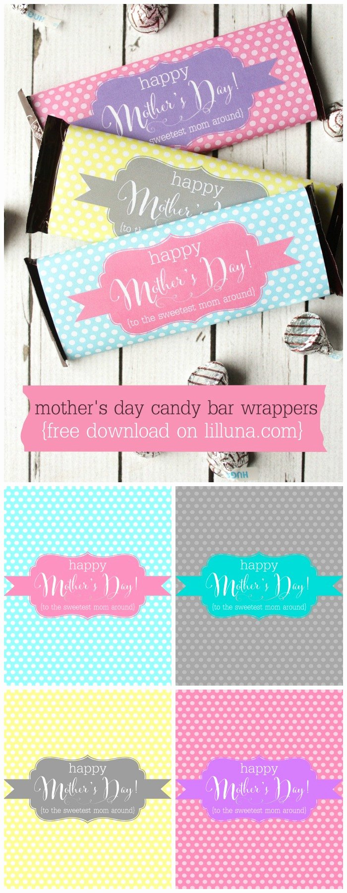 Free Candy Bar Wrappers Luxury Mother S Day Candy Bar Wrappers