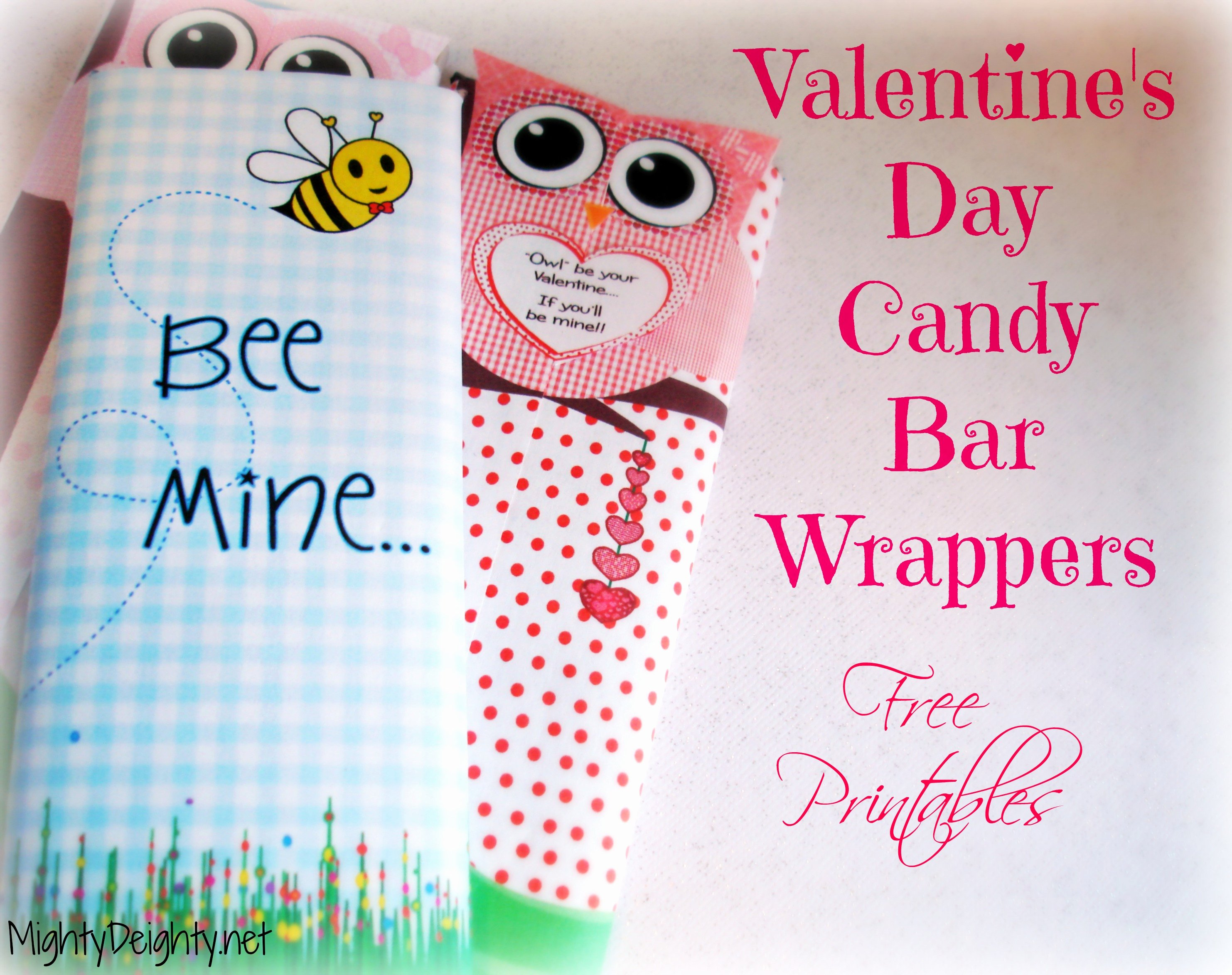 Free Candy Bar Wrappers Luxury Valentine's Day Printable Candy Bar Wrappers Free