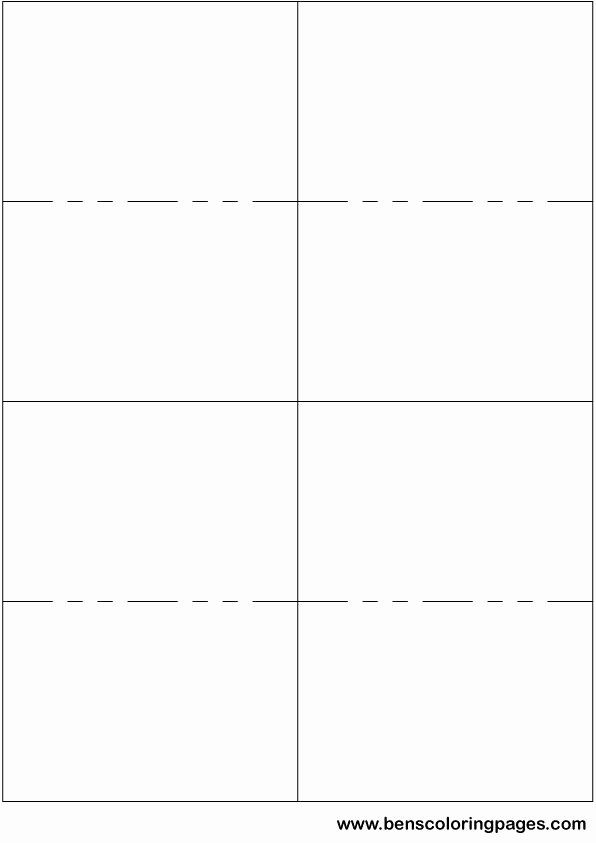 Free Card Templates Word Best Of Printable Small Flashcard Template