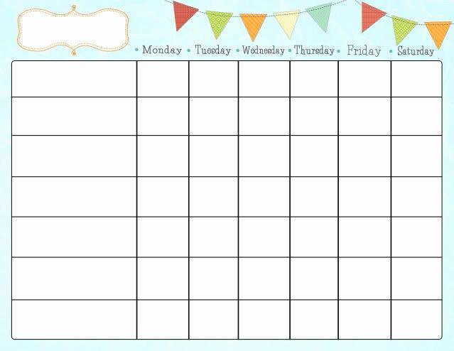 Free Chore Chart Printable Fresh Free Printable Chore Charts for Kids