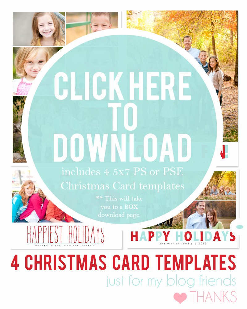 Free Christmas Photo Templates Best Of Diy Holiday Postcards 14 Free Holiday Card Templates
