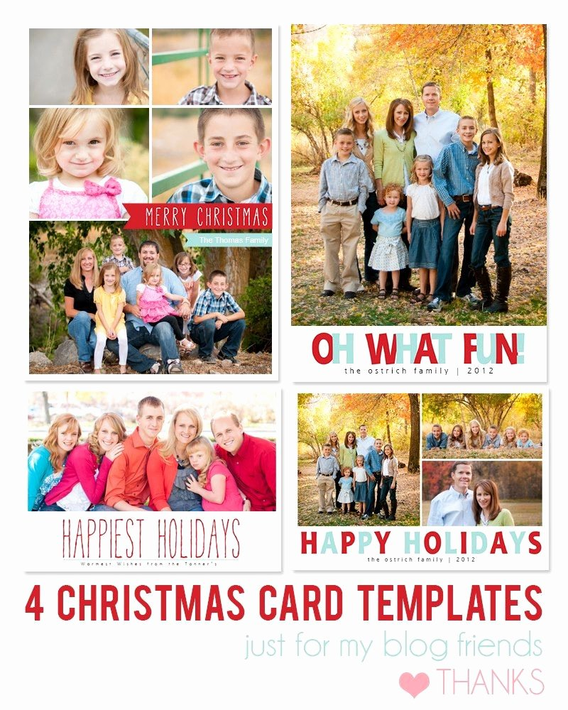 Free Christmas Photo Templates Inspirational Free Shop Holiday Card Templates From Mom and Camera