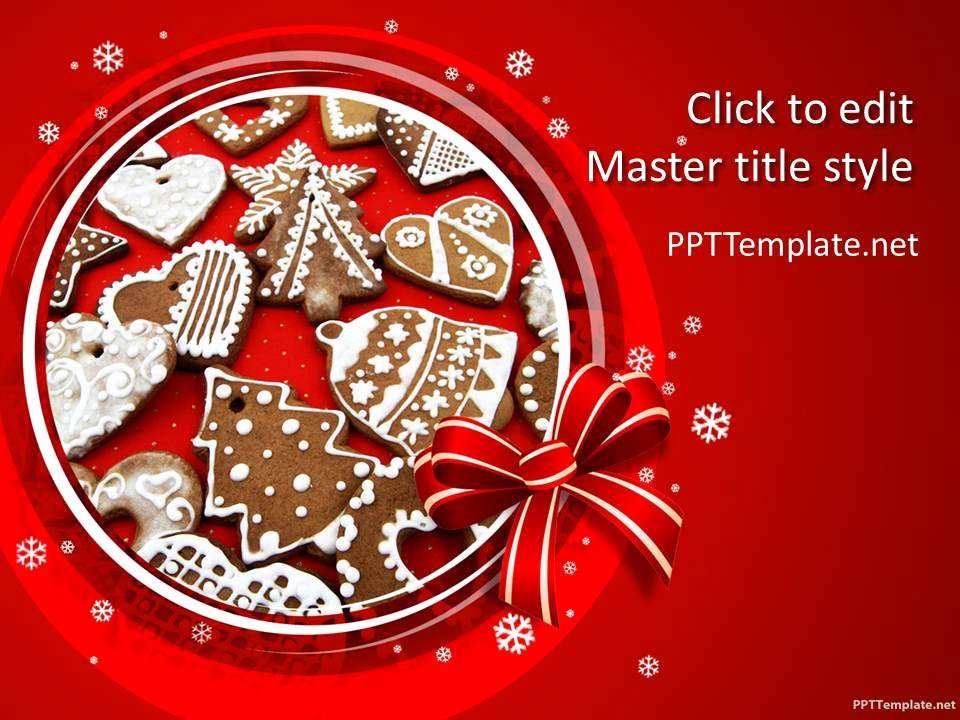 Free Christmas Powerpoint Templates Best Of Free Christmas Baking Ppt Template