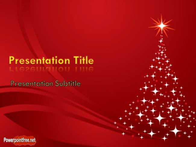 Free Christmas Powerpoint Templates Elegant Free Christmas Tree Powerpoint Template