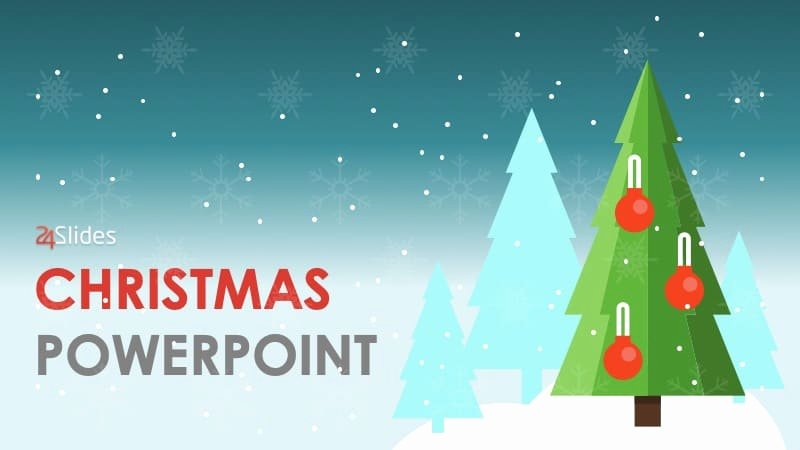 Free Christmas Powerpoint Templates Lovely Here S A Free Christmas themed Powerpoint Template