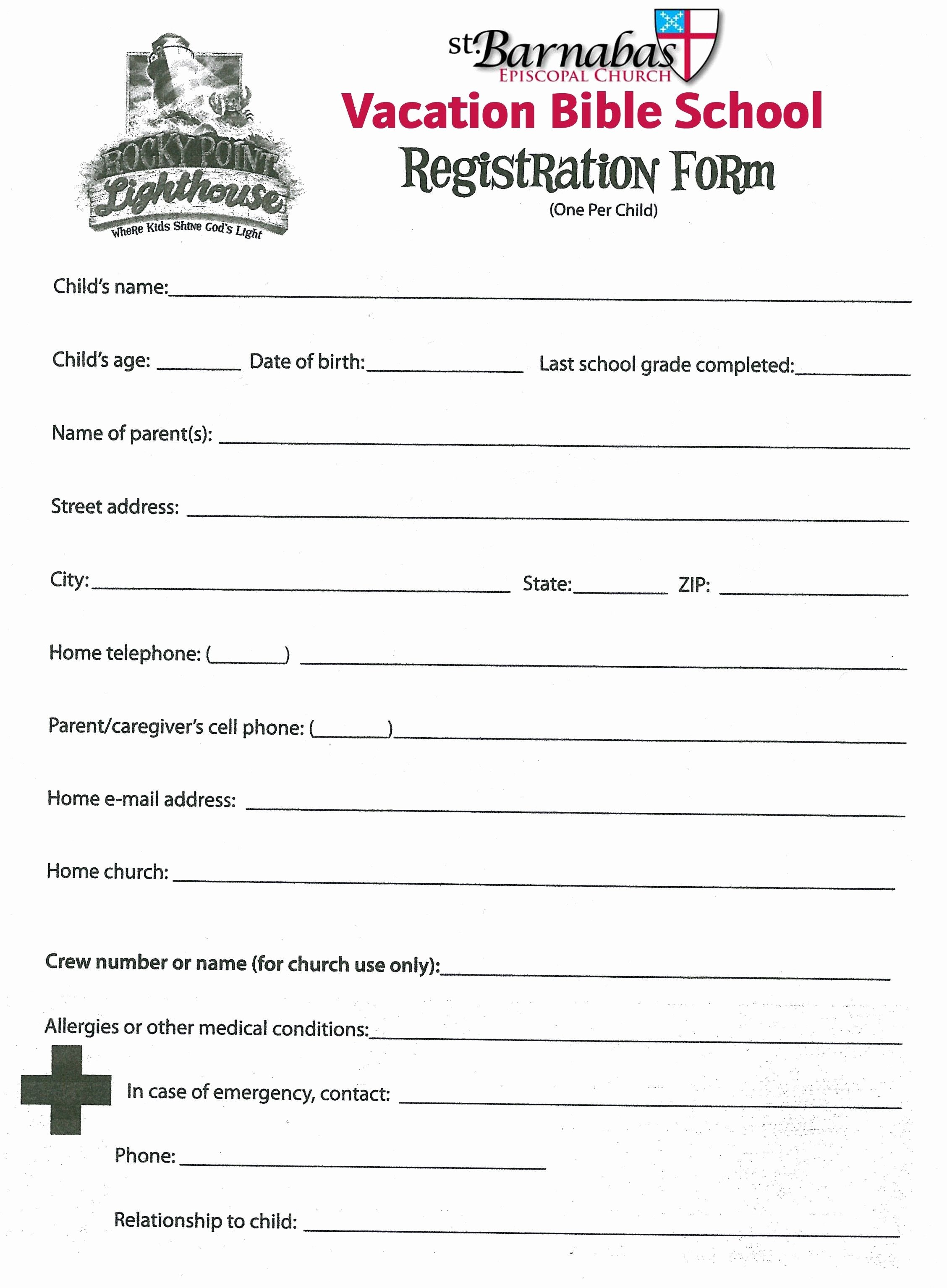 Free Church forms Printable Best Of New Children S Church Sign In Sheet Template Xls