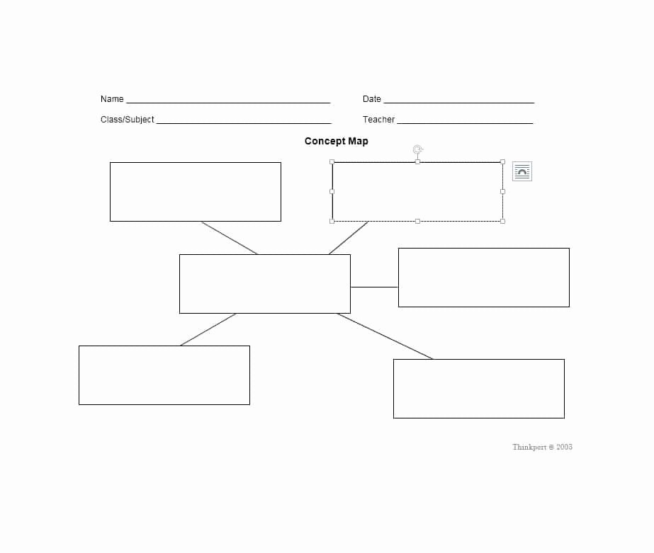 Free Concept Mapping Templates Awesome 40 Concept Map Templates [hierarchical Spider Flowchart]