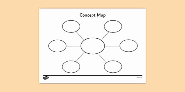 Free Concept Mapping Templates Luxury Concept Map Template Concept Maps Concept Map Template