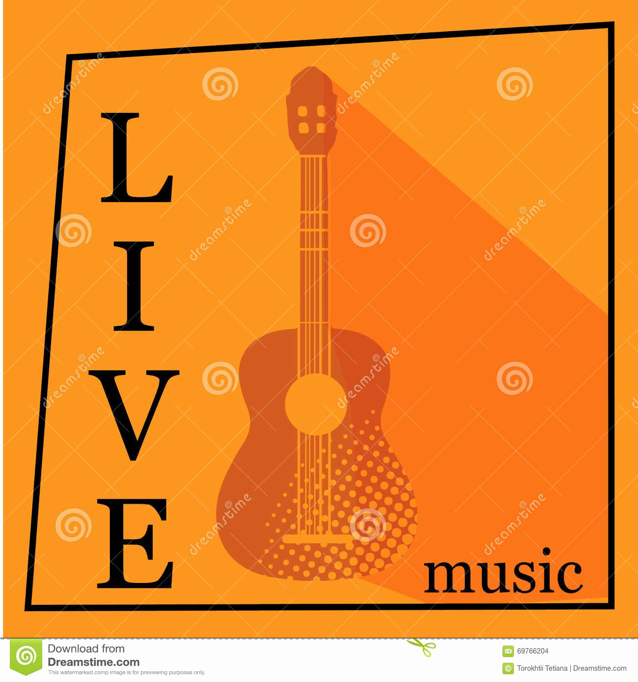 Free Concert Poster Templates Luxury Live Music Vector Poster Template Stock Image