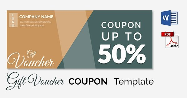 Free Coupon Template Word Luxury Blank Coupon Templates – 26 Free Psd Word Eps Jpeg
