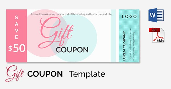 Free Coupon Template Word Luxury Coupon Template Word