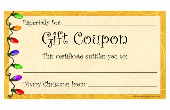 Free Coupon Template Word Unique 28 Homemade Coupon Templates – Free Sample Example