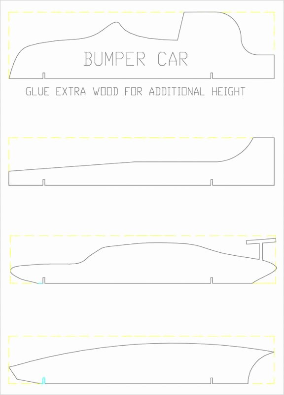 Free Derby Car Templates Best Of Pinewood Derby Car Template