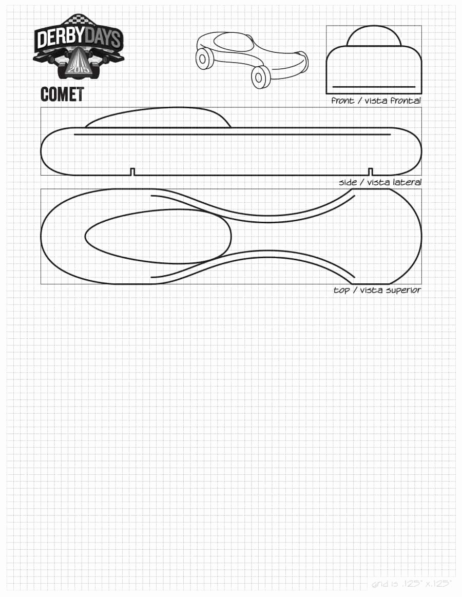 Free Derby Car Templates Inspirational 39 Awesome Pinewood Derby Car Designs & Templates