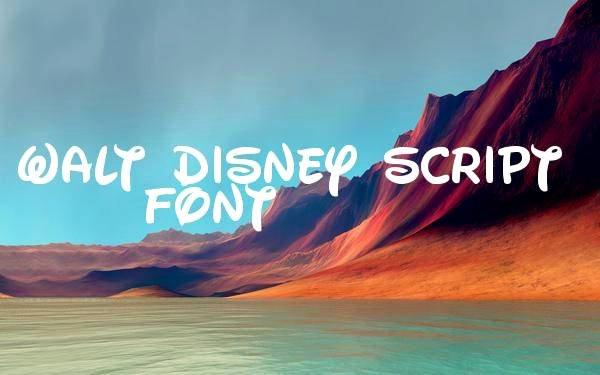 Free Disney Font Generator Fresh 8 Free Disney Fonts Ttf Otf