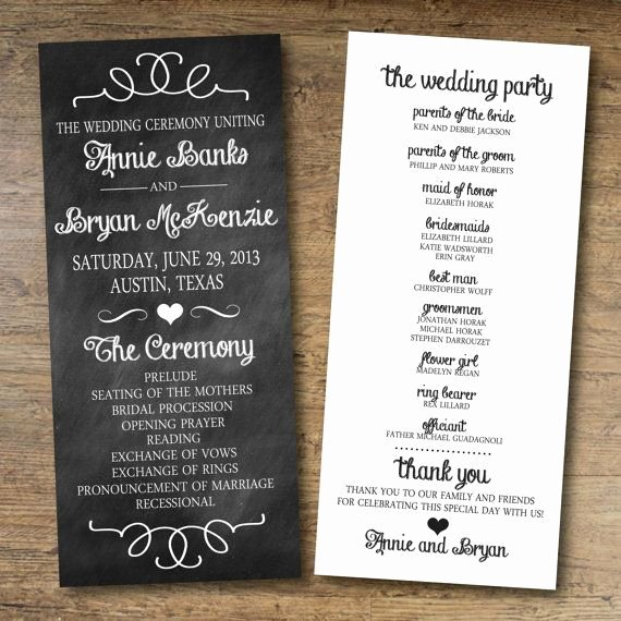 Free Diy Wedding Programs Templates Luxury Best 25 Wedding Program Templates Ideas On Pinterest