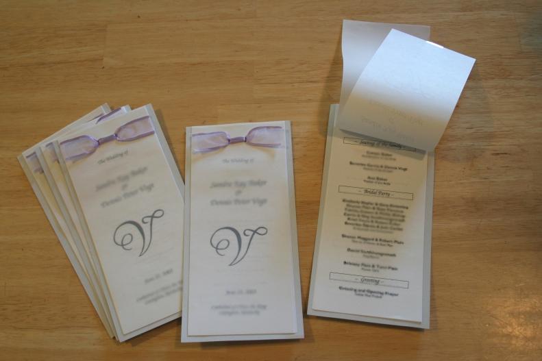 Free Diy Wedding Programs Templates New Free Diy Wedding Programs and Menus