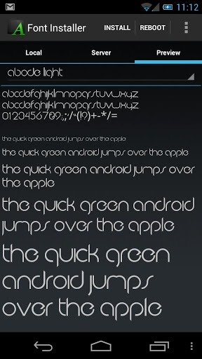 Free Downloadable Fonts for android Elegant 4 Best Free android Apps to Change and Add Custom Fonts