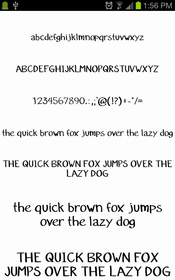 Free Downloadable Fonts for android Inspirational Fonts for Galaxy Flipfont Free android Apps On Google Play