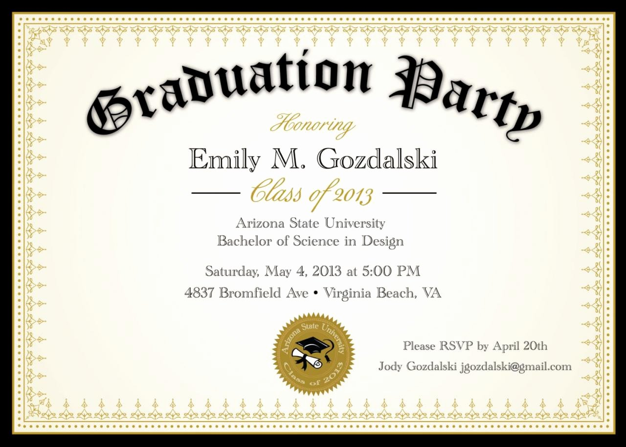 Free Downloadable Graduation Invitations Fresh Diploma Graduation Party Invitations Grad Announcement