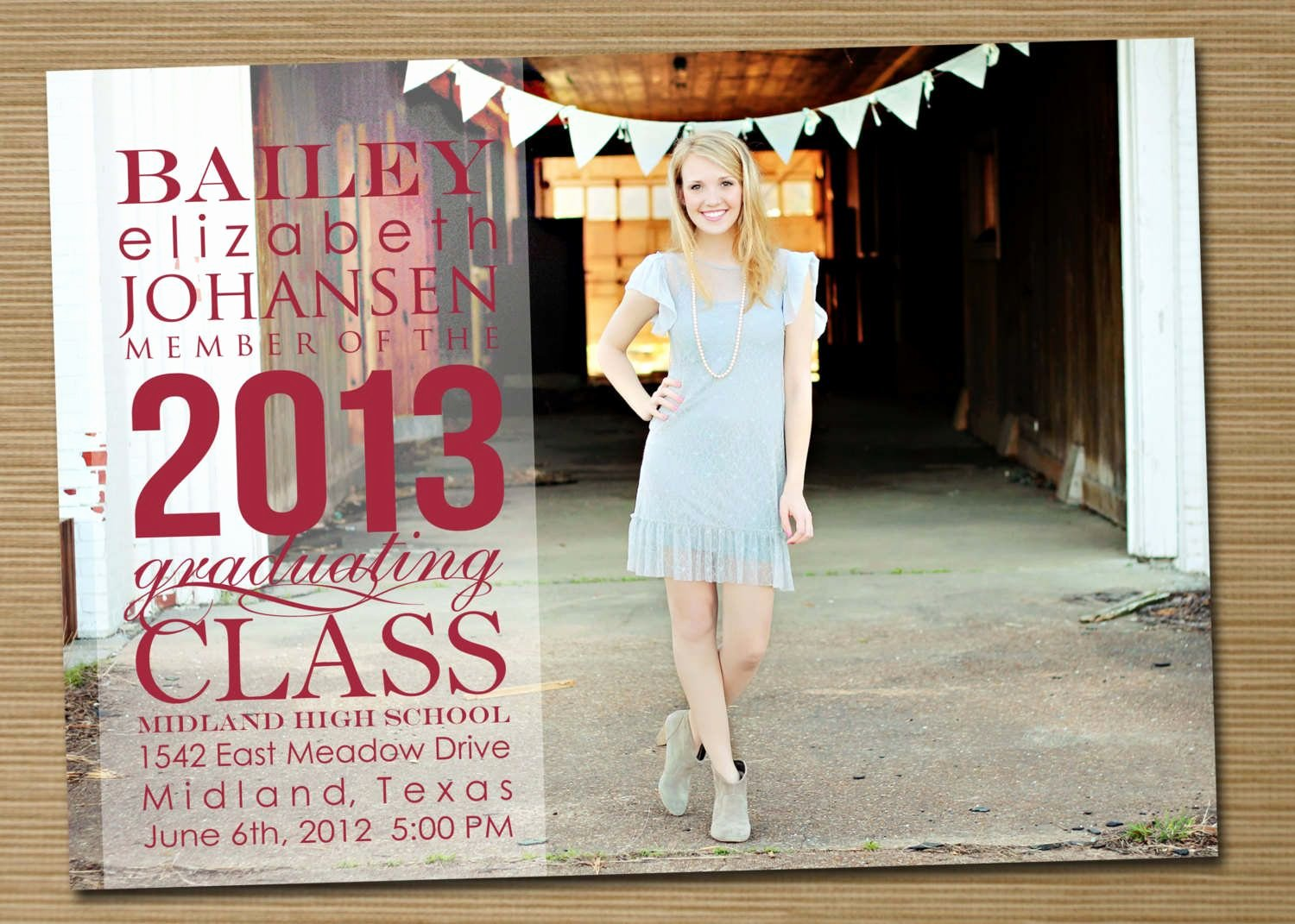Free Downloadable Graduation Invitations Fresh Free Printable High School Graduation Invitations 2013
