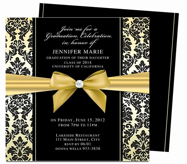 Free Downloadable Graduation Invitations Luxury 46 Best Printable Diy Graduation Announcements Templates