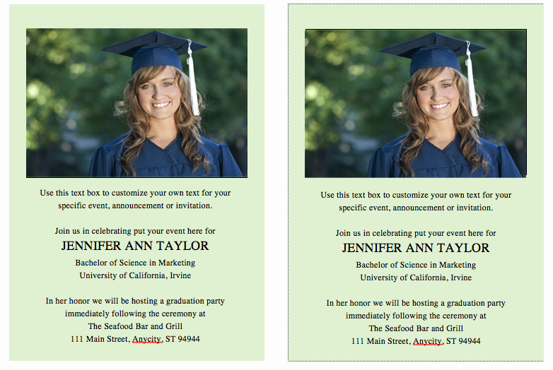 Free Downloadable Graduation Invitations New Free Graduation Invitation Announcement Template solid