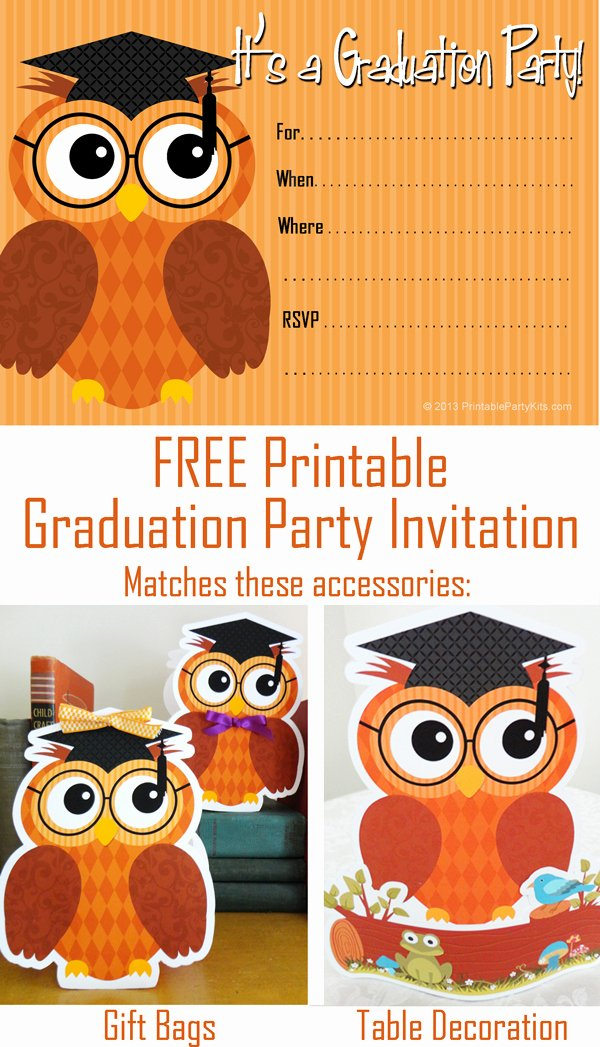 Free Downloadable Graduation Invitations New Party Planning Center Free Printable Graduation Party