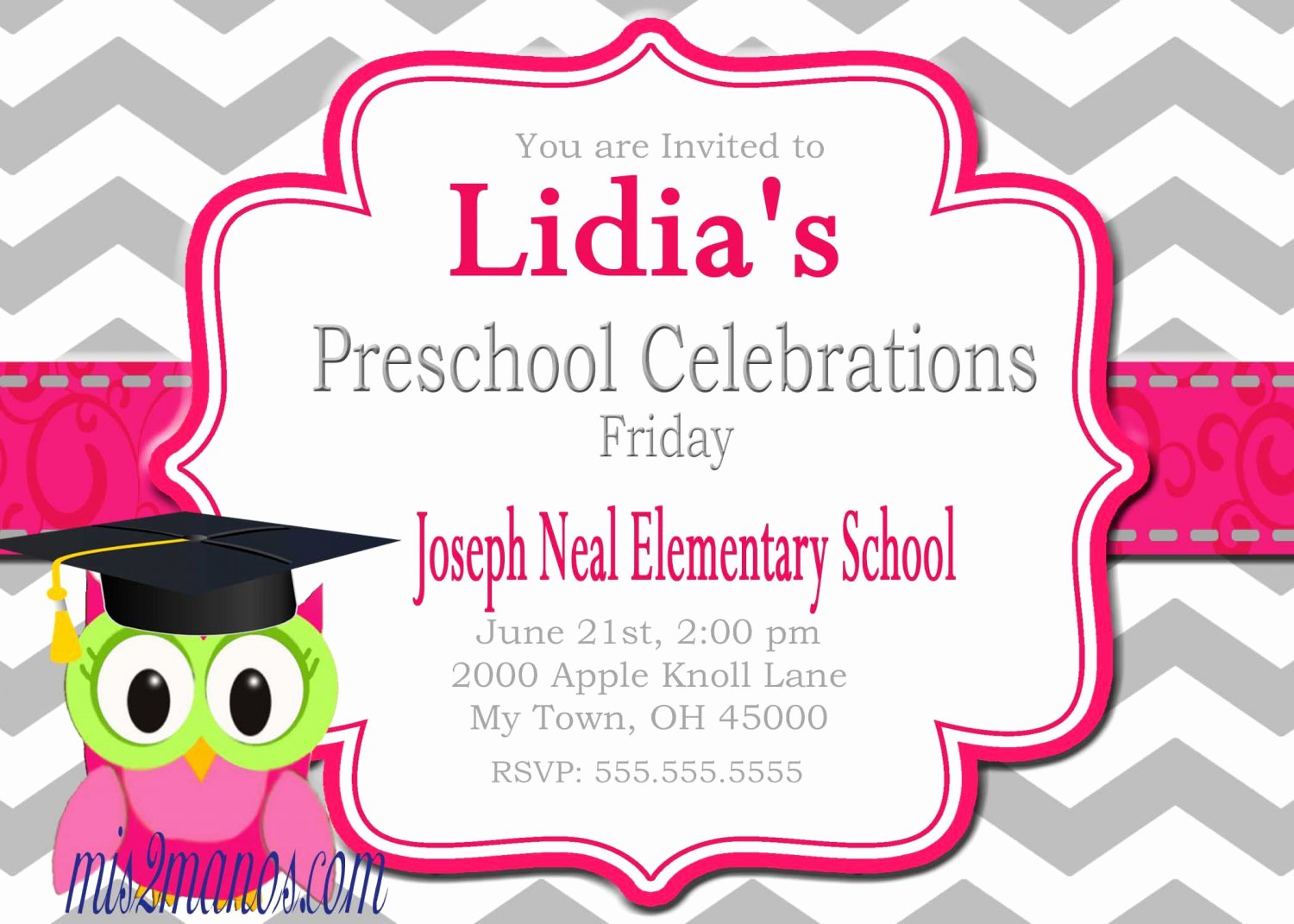Free Downloadable Graduation Invitations Unique Preschool Graduation Invitations Printable Invites